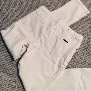 Kenneth Cole white jeans